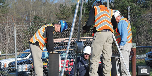 contract confined space rescue teams