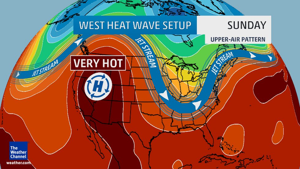 Heat wave June 2015