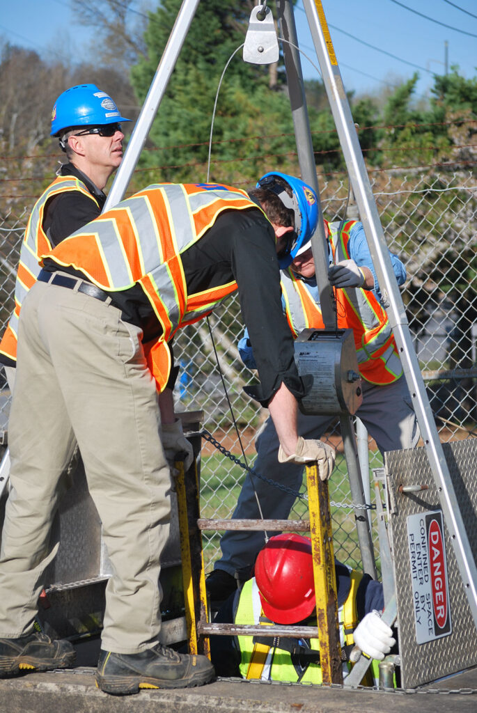 Professional Rescue, Stand by rescue teams, Confined Space Rescue Teams