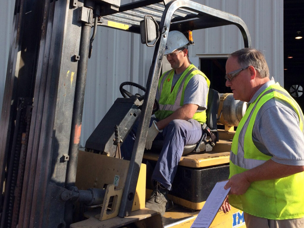 : Forklift and Powered industrial truck training